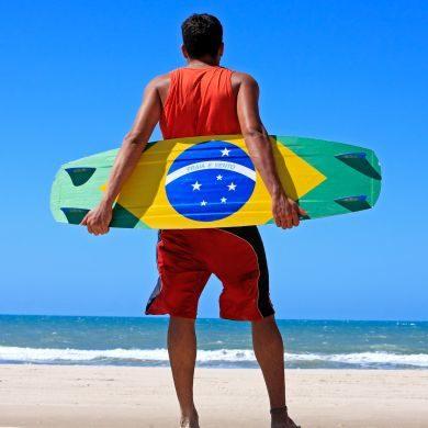 Kite surfen Brasilien Themenreisen GloboTur