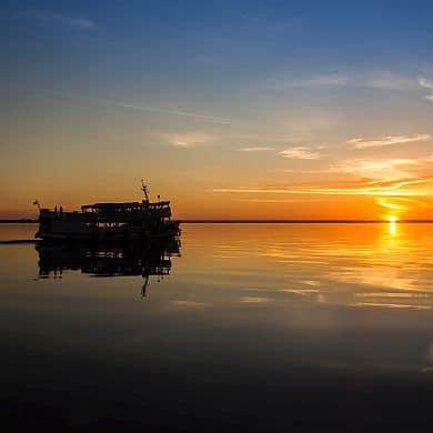 Cruzador Sonnenuntergang Amazonas