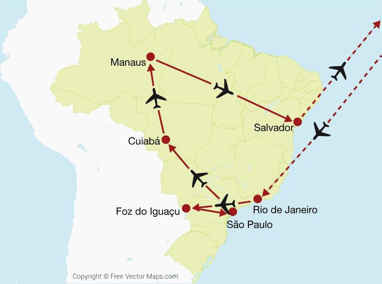Brasilien Intensiv Rundreise Globotur