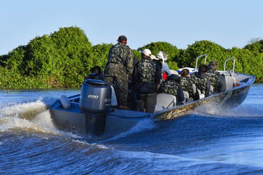 Bootsfahrt Pantanal Peralta GloboTur