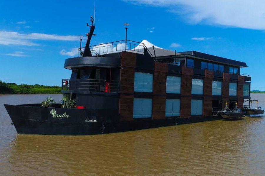 Peralta Flusskreuzfahrt Brasilien Pantanal