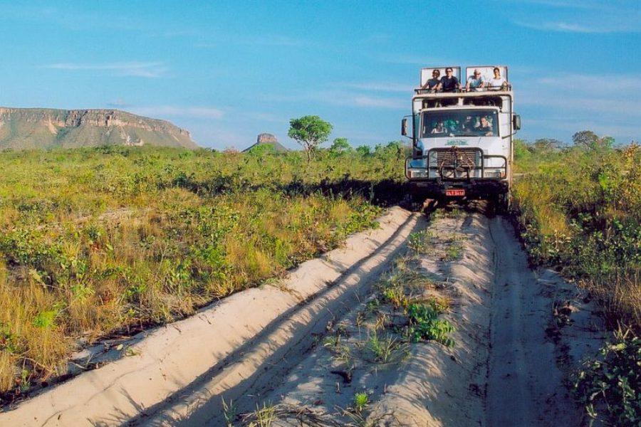 Jalapao Truck Safari Brasilien GloboTur