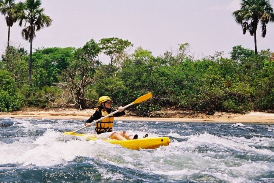 Kayak Jalapao Korubo GloboTur