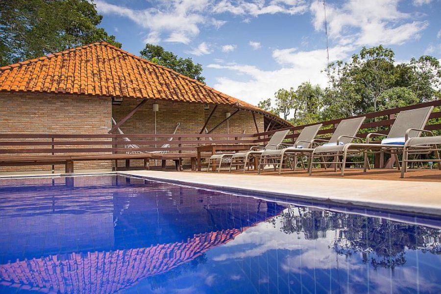 Cordilheira Caiman Lodge Schwimmpool GloboTur