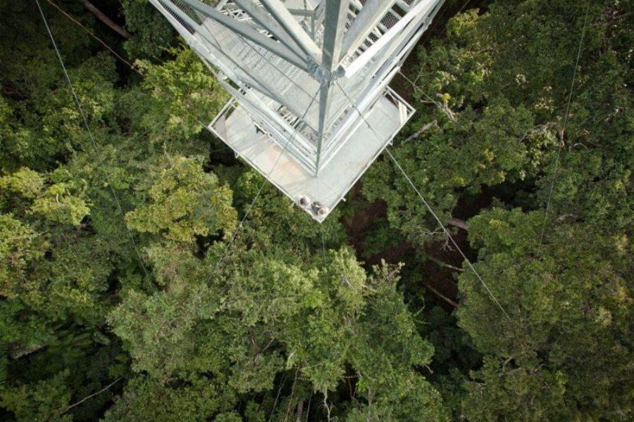 Cristalino Lodge Aussichtsplattform GloboTur