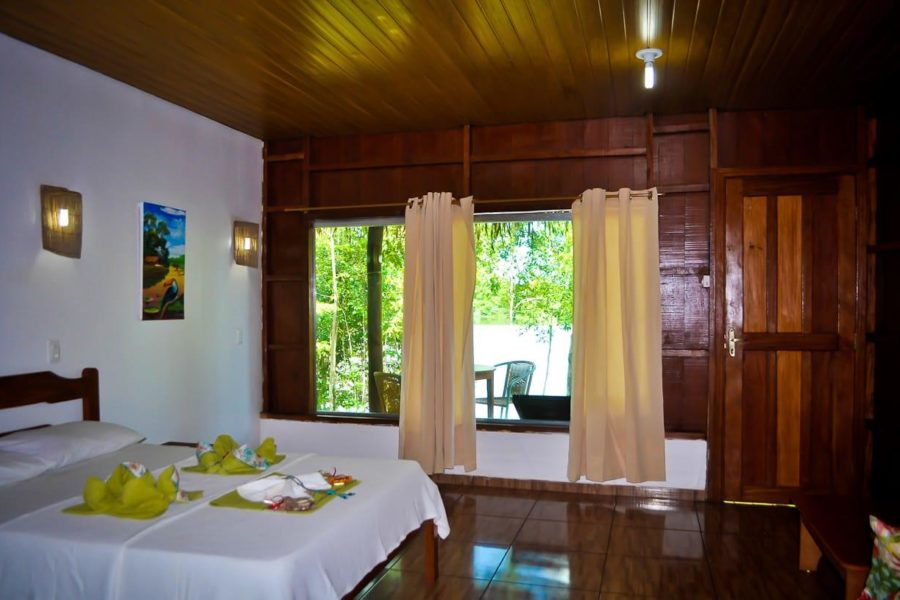 Honeymoon Bungalow Turtle Lodge Amazonas