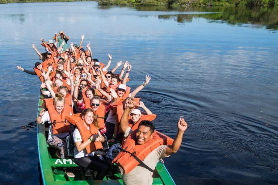 Amazonas Klassenfahrt Turtle Lodge GloboTur