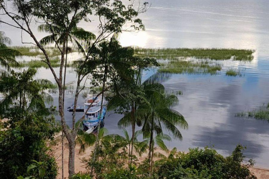 Schiff Lopeix Amazonas Naturlandschaft GloboTur