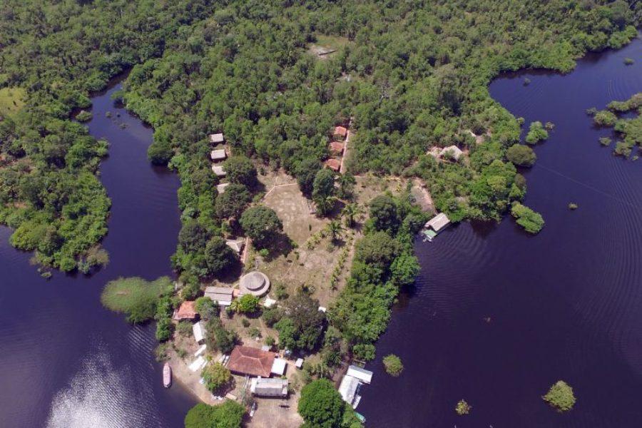 Turtle-Amazonas-Lodge-Mamori-See-GloboTur