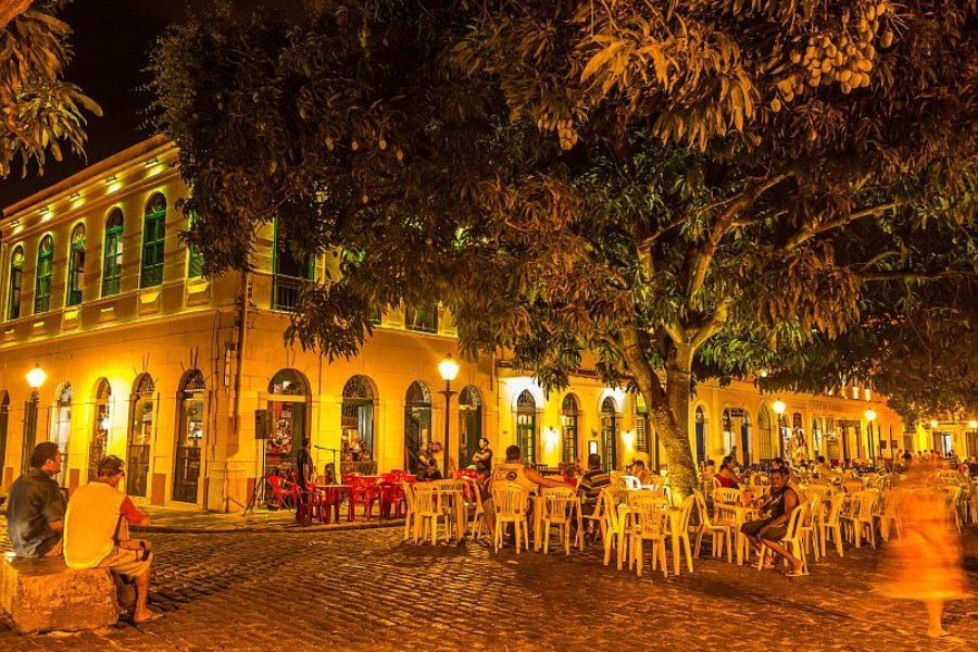 Abendstimmung Sao Luis Kolonialstadt GloboTur