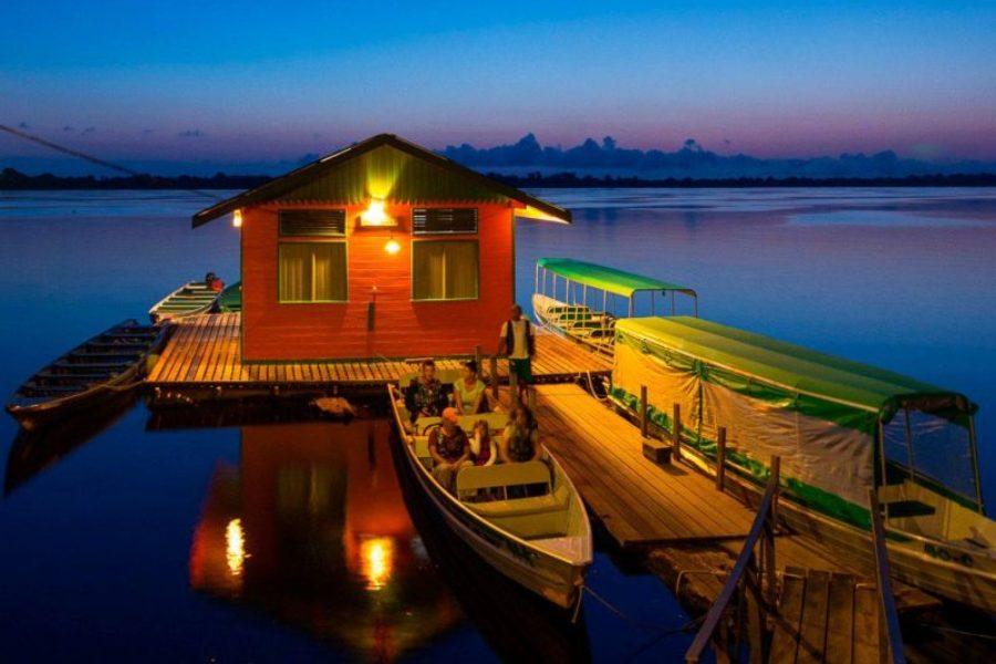 Amazonas Dschungel Deluxe Lodge Anavilhanas GloboTur