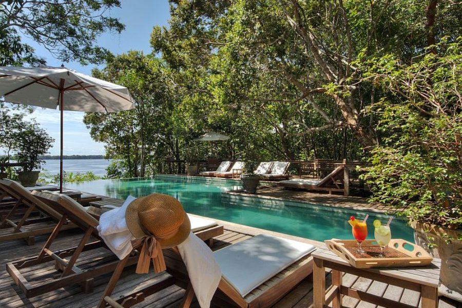 Anavilhanas Lodge Pool Amazonas GloboTur