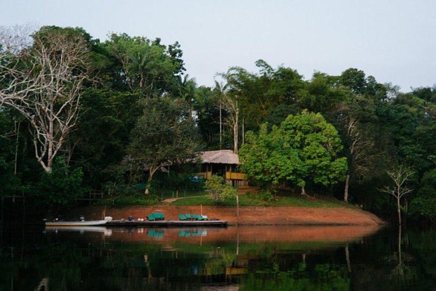 Brasilien Amazonas Dolphin Lodge GloboTur