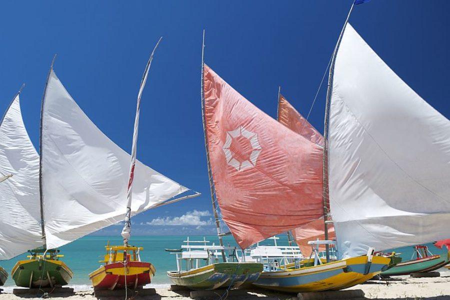 Brasilien Fischerboot Strandurlaub GloboTur