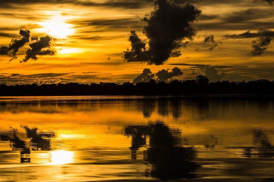 Brasilien GloboTur Sonnenuntergang