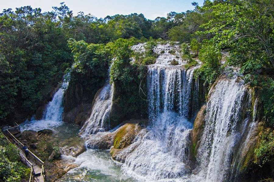 Brasilien Park Der Wasserfaelle Bonito Visitms GloboTur