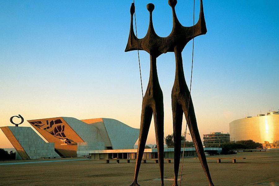 Der Platz der Drei Gewalten Brasilia Embratur GloboTur