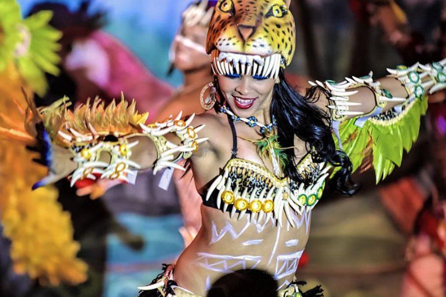 Ibero Gran Star Amazon Folklore Brasilien Show GloboTur