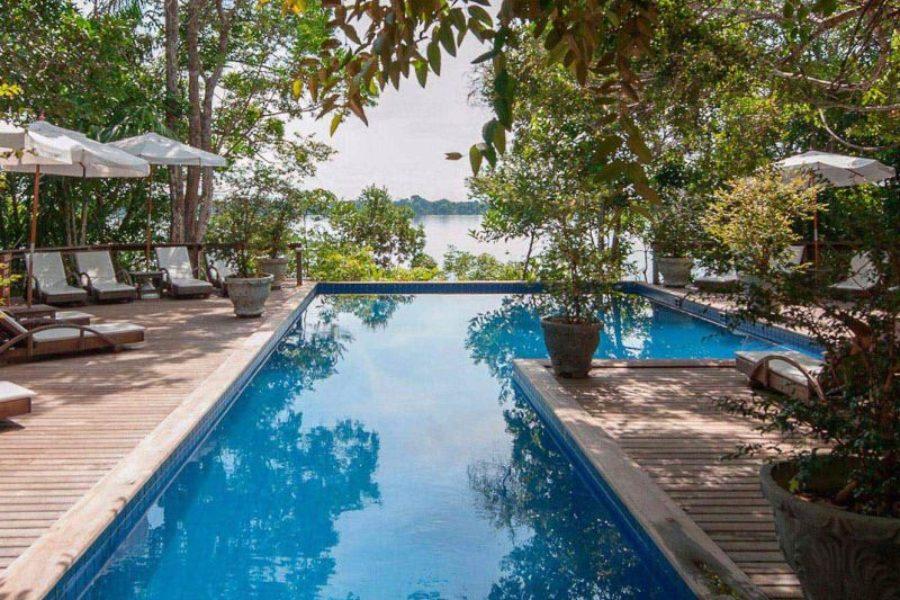 Lodge Anavilhanas Pool Amazonas GloboTur