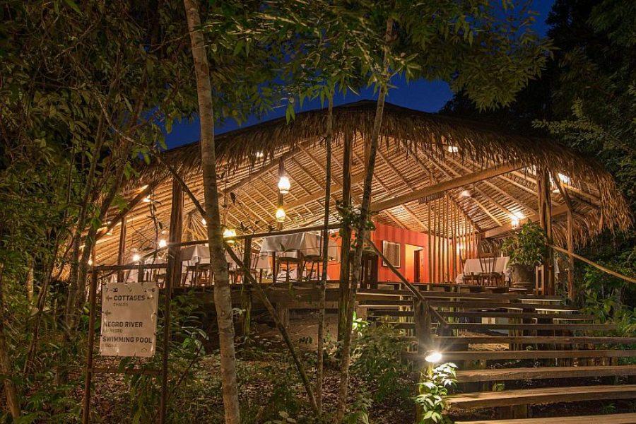 Lodge Anavilhanas Regenwald Restaurant GloboTur