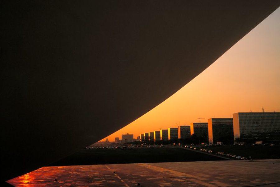 Niemeyer Esplanada dos Ministerios Ministerien von Brasilia Embratur GloboTur