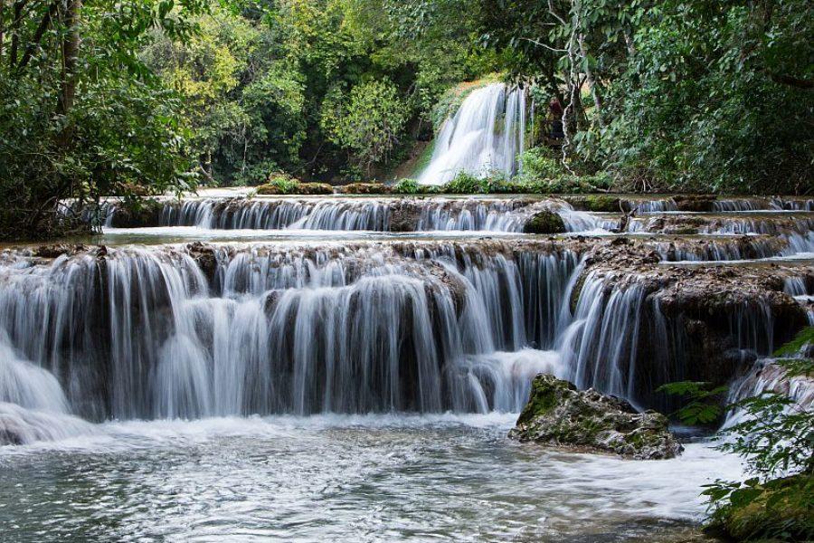 Park der Wasserfaelle Bonito Brasilien GloboTur Visitms