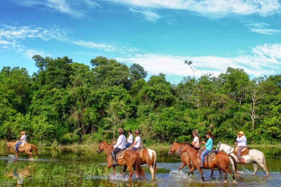 Pousada Aguape Pantanal Pferdtour GloboTur