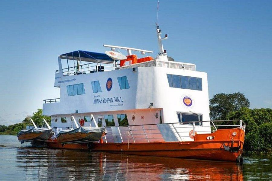 Pantanal Reisen Brasilien Schiffsreise Minas Do Pantanal GloboTur