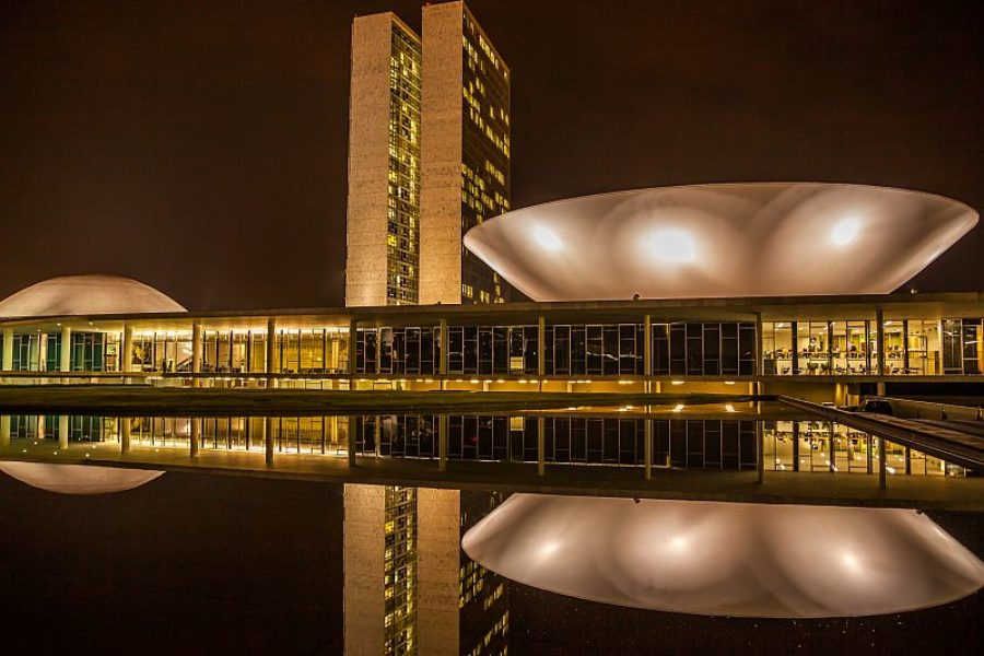 Brasilia Spezialist Architektur Nationalkongress GloboTur