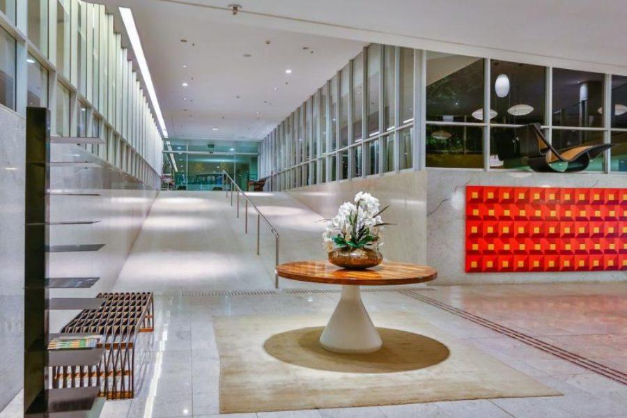 Kunstwerk der Moderne Brasilia Palace Hotel GloboTur