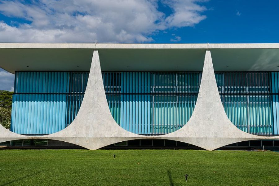 Oscar Niemeyer Kunstwerk Brasilia GloboTur