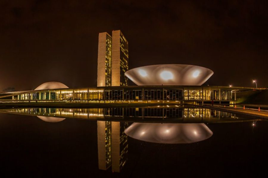 Planalto Central Brasilia Architektur GloboTur