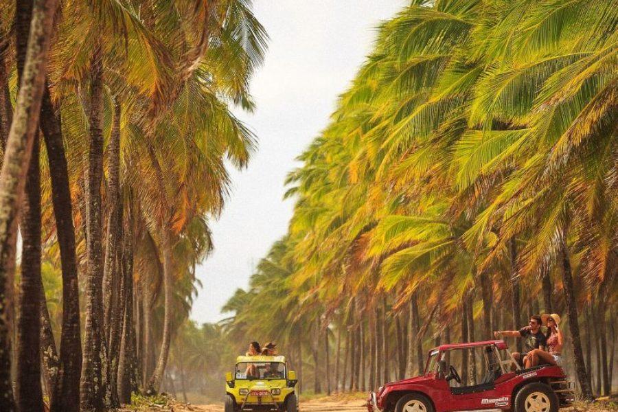 Recife Brasilien Buggy Tour Porto de Galinhas Empetur GloboTur