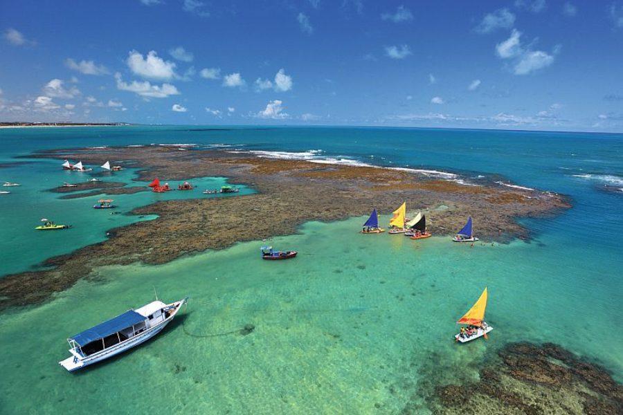 Schwimmbecken Porto de Galinhas Recife Empetur GloboTur