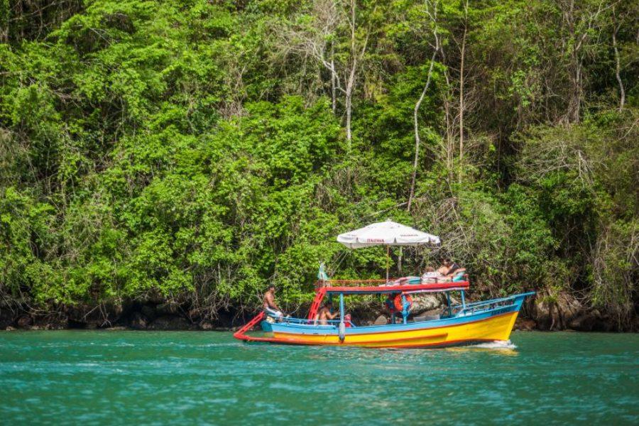 Paraty Bootsfahrt Brasilien GloboTur