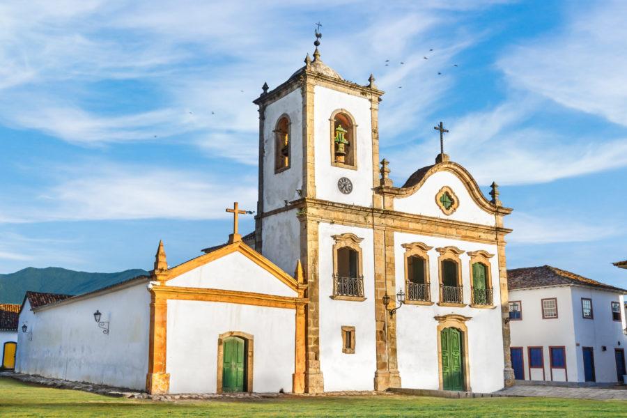 Kirche Santa Rita de Cassia in Paraty Rio de Janeiro GloboTur